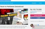 Masyarakat Galang Dana untuk Petugas KPPS Meninggal Lewat kitabisa.com