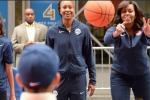 Ibu Negara AS Beri Semangat Jelang Olimpiade