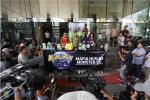 Koalisi Pemantau Peradilan Gelar Aksi di Gedung KPK