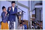 Di Isra Mikraj, Presiden Jokowi Bicara Belajar 4 Jam Sehari