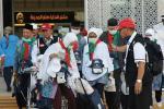 Ada Pesawat Tergelincir,  Kepulangan Haji Kloter JKG 14 Ditunda