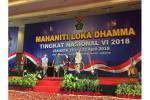 Mahaniti Loka Dhamma VI, Mahasiswa Harus Tumbuhkan Moderasi Agama