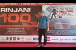 Dilepas di Bogor, Hendra Wijaya Berlari 2.400 Km ke Lombok hingga Palu