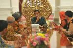 BPS Menyensus Jokowi di Istana