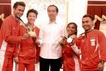 Jokowi Sambut Atlet Peraih Medali Olimpiade di Istana