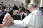 Jawaban Jonan Saat Bertemu Paus Fransiskus