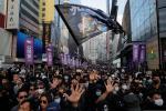 Demonstrasi Terbesar Berlangsung di Hong Kong