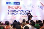 Indeks Kerukunan Umat Beragama 2019 Naik