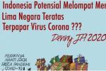 Denny: Indonesia Berpotensi Lima Besar COVID-19 Jika Mudik Dibolehkan