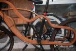 Sepeda Kayu Buatan Dalam Negeri