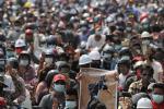 """Demonstrasi Berlanjut di Myanmar Usai """"Hari Paling Berdarah"""""""