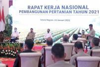 Jokowi Dorong Pertanian Skala Luas dan Penerepan Teknologi