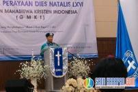 GMKI 66 Tahun, Kader Diminta Jadi Oikumenis dan Nasionalis