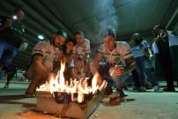 Chapecoense Berkumpul dan Berdoa Bersama di Stadion