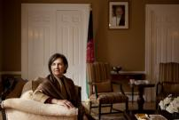 Ibu Negara Afghanistan, Seorang Kristen, Inisiator Damai