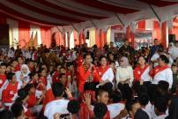 Presiden Jokowi Pesan kepada Anak Tidak Bully Kawan