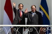Bertemu Jokowi, Presiden Nauru Tak Lagi Kritik RI Soal Papua
