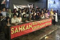 Mahasiswa Bandung Desak Pengesahan RUU Penghapusan Kekerasan Seksual