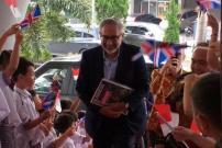 Dubes Inggris Moazzam Malik Temui 800 Siswa PENABUR Bandung