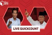 Quick Count Pilpres 2019: Jokowi-Amin Sementara Unggul