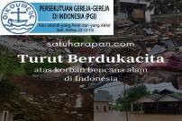 PGI Gerakkan Doa Syafaat - Kumpulkan Dana untuk Korban Bencana Alam