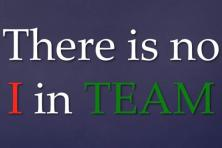 """Tidak Ada """"Saya"""" dalam Sebuah Tim"""