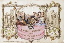 Kartu Natal Cetak Pertama Mulai Dijual Online