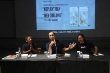 Sastrawan Oka Rusmini Lahirkan Buku Kembar Buncing