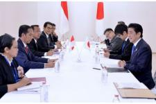 Jokowi Temui PM Abe Bahas Pelabuhan Patimban