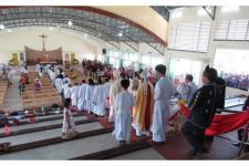 Gereja Katolik Lantunkan Lagu Idul Fitri Dipuji Netizen