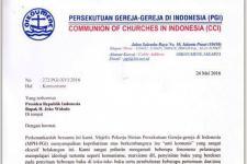 Isu Anti-Komunis, PGI Surati Jokowi, Sebab Buat Resah