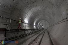 Pengerjaan Terowongan MRT Capai 65 Persen