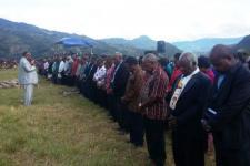 60.000 Umat Hadiri Yubileum Gereja Baptis di Pedalaman Papua