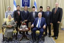 Delegasi Muslim Indonesia Temui Presiden Israel