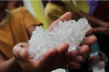 BNPB: Hujan Es Jakarta Fenomena Alami