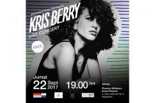 Penyanyi Kris Berry Singgah di Yogyakarta