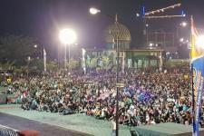 Ribuan Warga Kubu Raya Nobar Film G30S/PKI