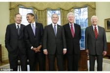Lima Mantan Presiden AS Galang Dana untuk Korban Badai