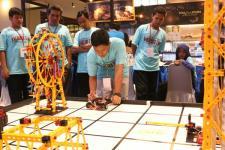 Kompetisi Robotik Madrasah 2017 di Pameran Pendidikan Islam
