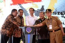 Presiden Jokowi 'Groundbreaking' Rel Ganda Bogor-Sukabumi