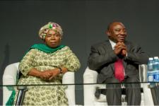 Ramaphosa dan Dlamini-Zuma Calon Pemimpin Afrika Selatan