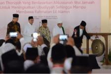 Presiden Ingatkan Jaga Keberagaman di Muktamar XII JATMAN