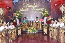 Pemkot Denpasar Gelar Lomba Gender Wayang