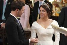 Pernikahan Putri Eugenie Memukau Fans Kerajaan Inggris