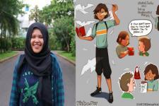 Remaja Makassar Menang Lomba Komik Dunia dengan Superhero Cipta