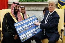 Gedung Putih Dorong Program Nuklir Arab Saudi