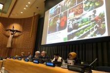 Wali Kota Risma Paparkan Ketahanan Pangan di Markas PBB