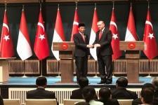 Jokowi-Erdogan Bahas COVID-19