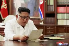Kim Jong Un Puji Isi Surat Pribadi dari Trump