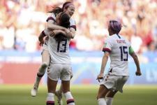 Tim Sepakbola Putri AS Juara Piala Dunia, Kalahkan Belanda 2-0